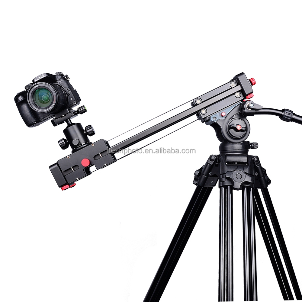 Professional Portable 100cm Video Dolly Track Rail Mini Camera Slider