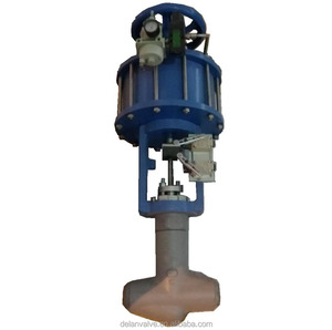 Fluid Oxygen Gas Body Material MONEL 400 T-Type Globe Valve