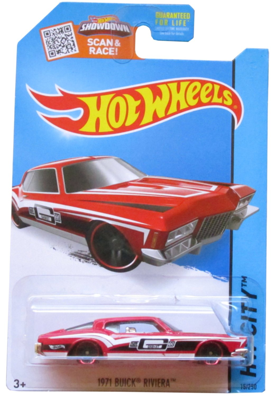 Get Quotations · Hot Wheels, 2015 HW City, 1971 Buick Riviera [Red] Die-Cast