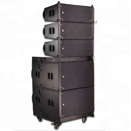 Dual 10 inch line array speaker top pro audio china line array speakers professional system
