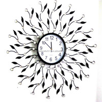 2015 factory price custom decorative modern extra large wall clocks