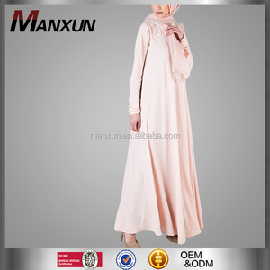 Custom Fashion Model Abaya Modern Long Woman Kebaya Prayer Wear Arabic Abaya
