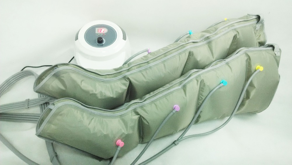 Air Compression Leg Massager Therapy System