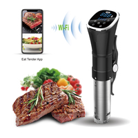IPX7 Waterproof Electric Digital Timer Control Sous Vide Immersion Circulator Slow Cooker wifi