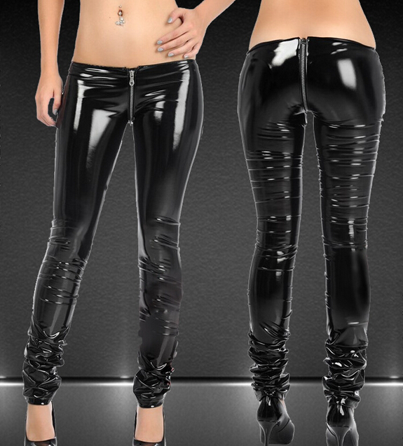 Sexy Women'S Leather Pants 78