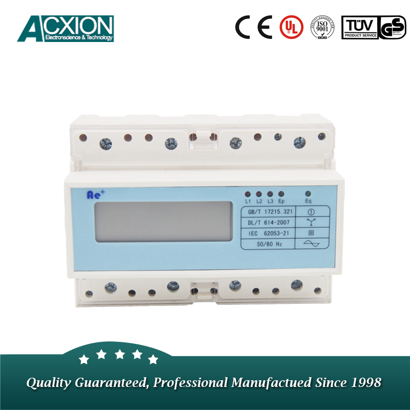 DIN Rail Digital Electric Power Quality Meter