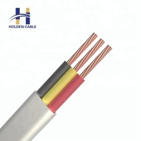 Direct manufacturers electric cable rubber flat price of electrical cable three phase
