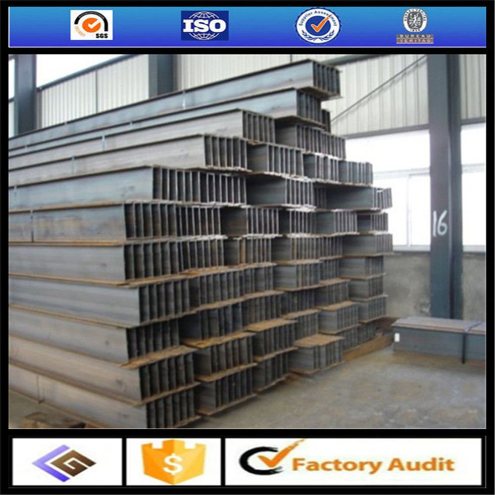 tangshan Q235B Q345B SS400 grade construction application H beam column/universal column/steel H