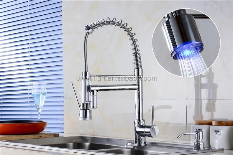 Commerciële led aanrecht waterkraan kraan keuken upc goedgekeurd