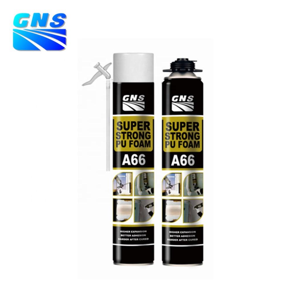 Gns A66 Quick Dry Spray 750ml Pu Foam Super Strong Polyurethane Foam