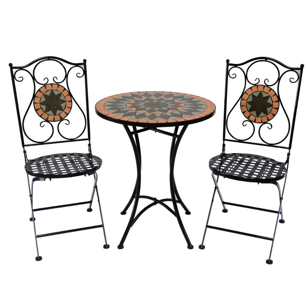 Cheap Wrought Iron Outdoor Garden Table And Chair Garden Table