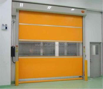 Wuxi Good High Speed Pvc Rapid Roller Door Fast Rolling