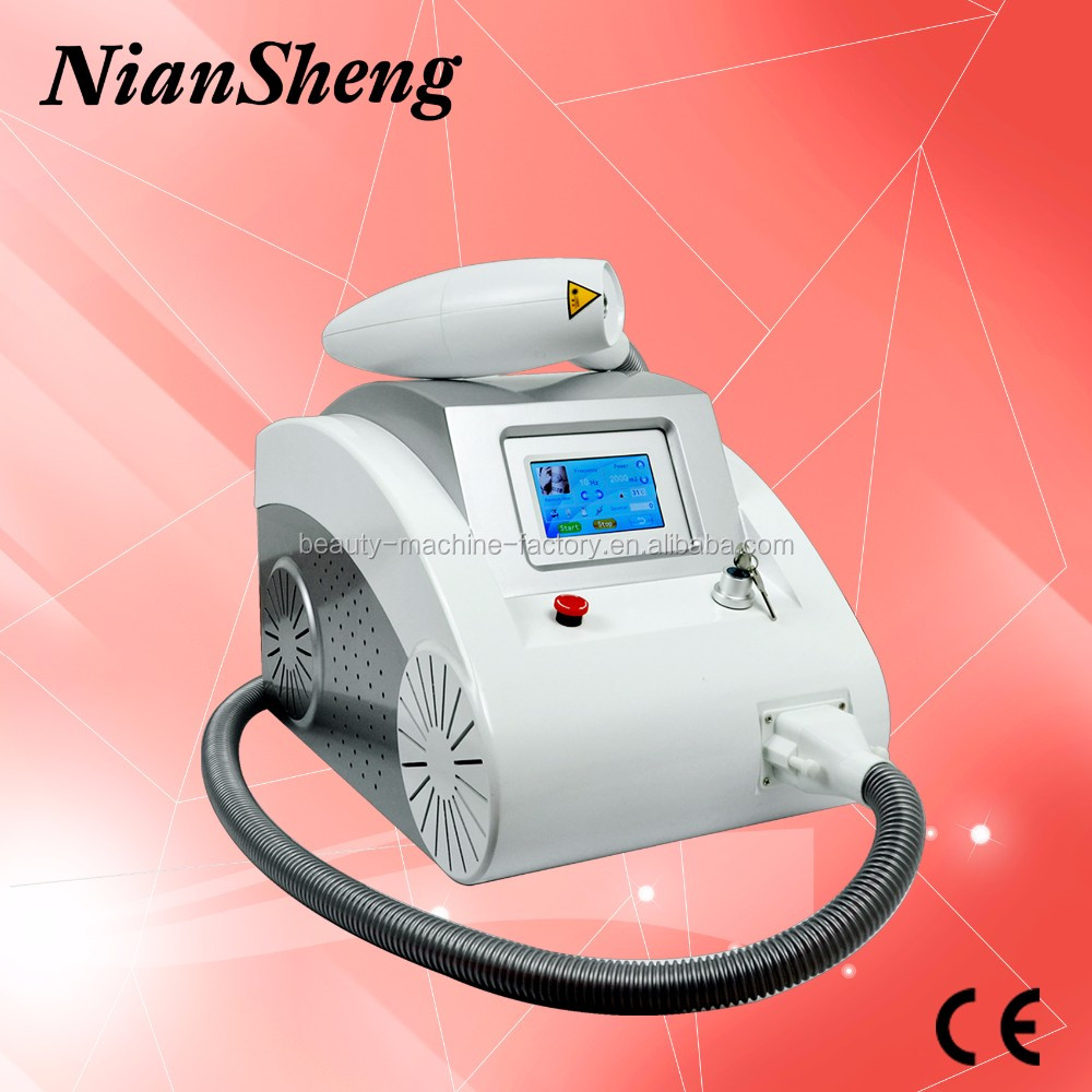 Nd yag laser for long pulse nd yag kes laser q switch nd yag tattoo removal