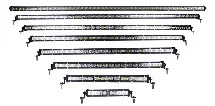 52'' 144W High Power Offroad Color Changing Led Light Bar with Super Slim Housing IP67 12v 24v Remote Control