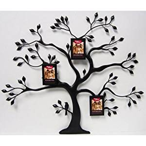 Metal Family Tree with 3 Mini Bronze Hanging Frames, Oil-Rubbed Bronze WD08415-0003 by Better Homes and Gardens