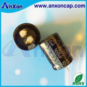 Snap in Capacitor 450V 100uF Aluminum Electrolytic Capacitor 450V 100MFD