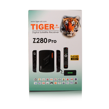 Tiger Z280pro Satellite TV Receiver Free 1 YEAR Arabic IPTV Account