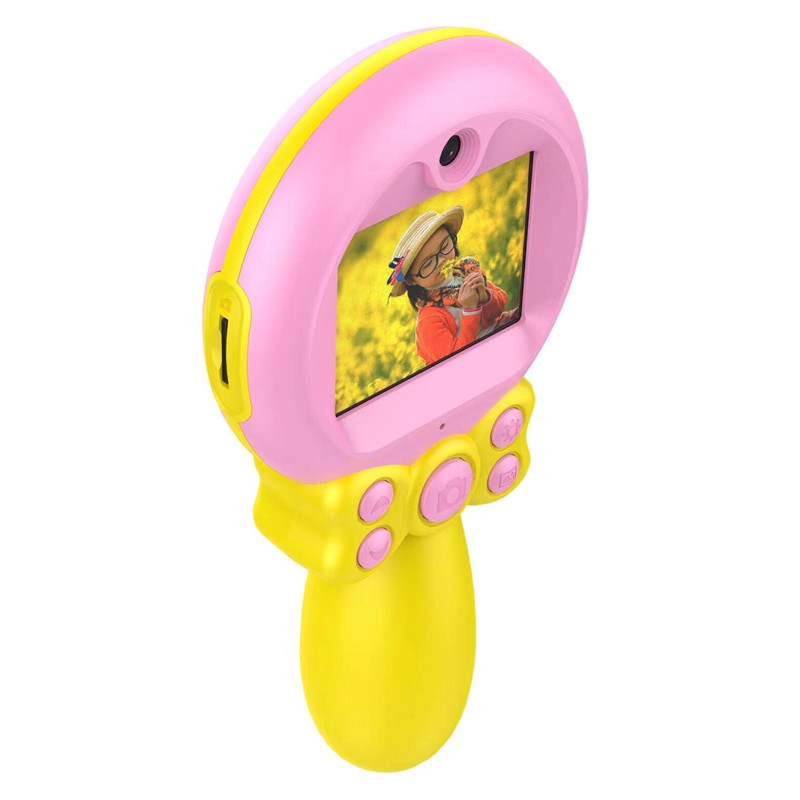 Handheld 2019 Best New Child Cartoon small toy 1080P Children Game kids digital camera for Birthday Party Christmas Gift