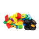 Funny Eco-friendly plastic toys plastic building blocks for sale kids construction building block set