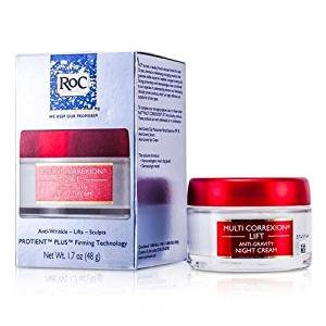 ROC by ROC Multi Correxion Lift Anti-Gravity Night Cream --48ml/1.7oz for WOMEN ---(Package Of 3)