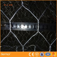 Double Twisted Hexagonal Mesh Galvanized River Bank Gabion Mesh for Protection (Manufacturer)