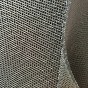 100% Polyester Knitted 3d spacer mesh fabric sandwich fabric