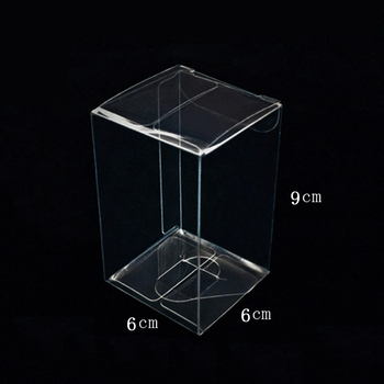 669cm Business Card Boxes Plastic Clear Business Card Storage Box