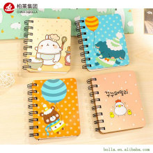 Custom 2017 Mini Portable Spiral Paper Diary Notebook