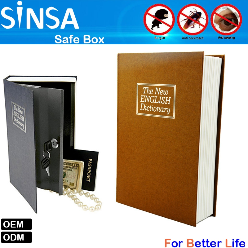 Hidden Book Safe - Store Your Valuables In Compartment Disguised As A Book  - Buy Fake Book Storage Box,Book Safe Lock Box,Hidden Key Box Product on