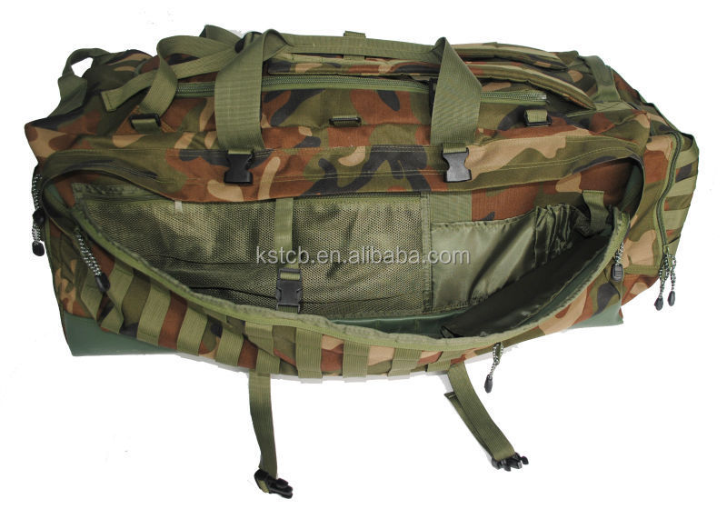 Utility military travel bag branded tactical backpack army bag