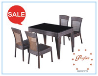 china supplier poly rattan garden furniture set home goods