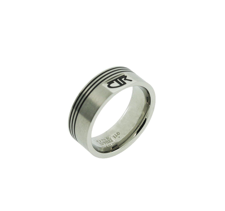 "J188 - ""Pivot"" Stainless Steel CTR Ring"
