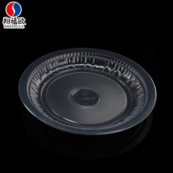 Xiang Fu Ou Eco-friendly plastic plates clear disposable microwavable plates transparent plastic dishes 6 & Xiang Fu Ou Eco-friendly Plastic Plates Clear Disposable ...