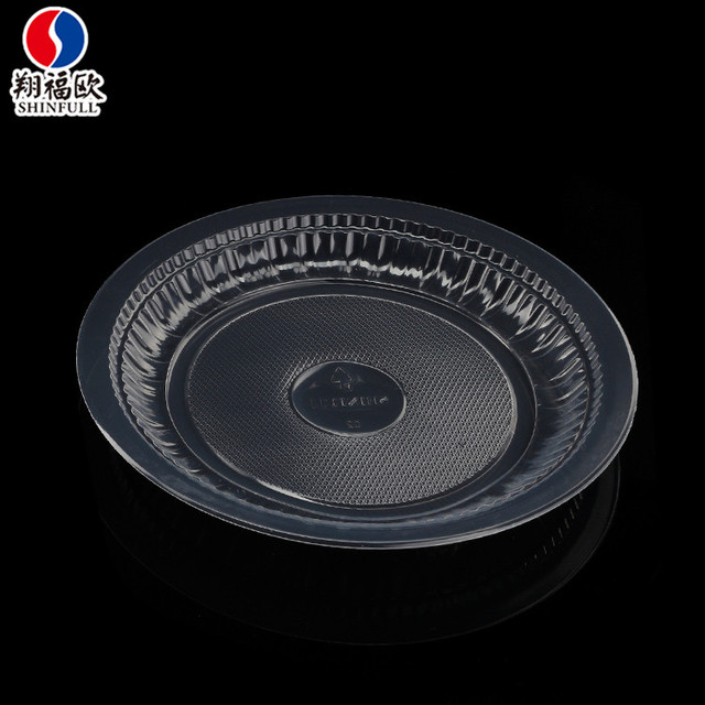 Xiang Fu Ou Eco-friendly plastic plates clear disposable microwavable plates transparent plastic dishes 6 & China Small Microwave Plates Wholesale 🇨🇳 - Alibaba