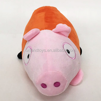 Stuffed Animal Toys Plush Cute Pink Fluffy Pig Soft Dog Toy Pillow