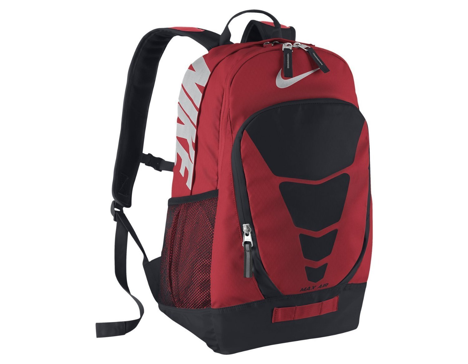c0923a069 Buy Nike Vapor BP Large Backpack Daring Red/Black/Metallic Silver in ...