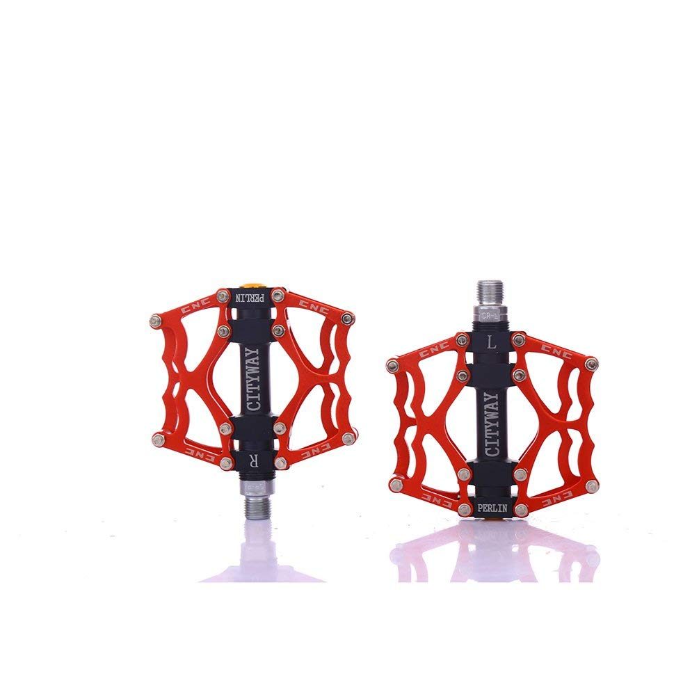 ViewHuge Bearing Bike Pedals,Aluminium Alloy MTB Mountain Cycling Pedals-1 Pair