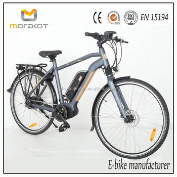 Cyclocross Frame Trek Electro Bike Bafang Mid Drive Motor Hydraulic ...