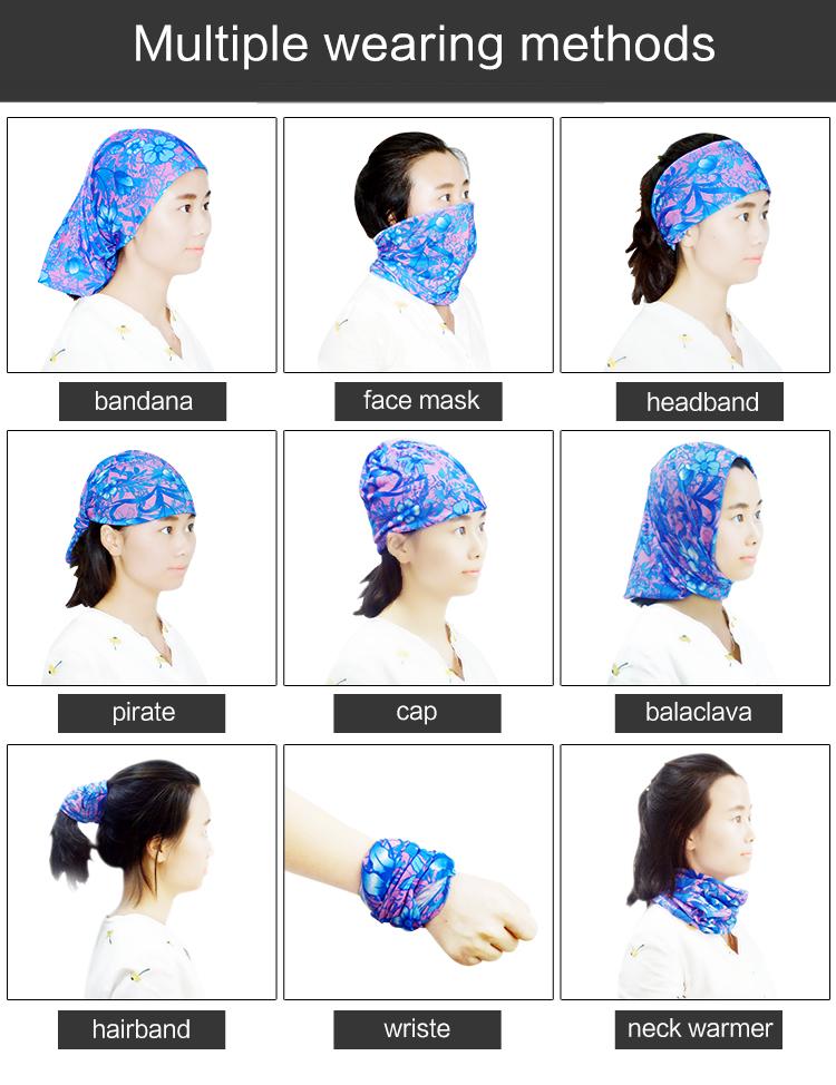 Custom Multi Use Winter Products Scarf Neck Warmer Seamless Multifunctional  Fleece Headwear a5ee5701ba1e