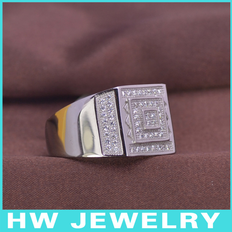LMR3429 Men Ring silber