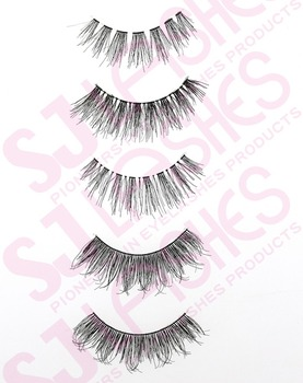 f745aac6597 Hand Made Human Hair Wispy False Eyelashes Factory Indonesia - Buy ...