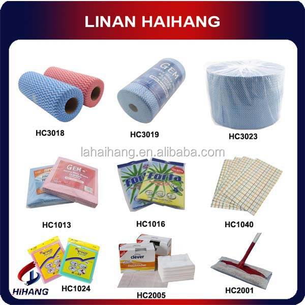High quality clean wipes nonwoven fabric absorbent rayon cloth