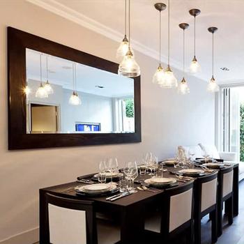 Norhs Rustic Designer Luxury Rectangular Large Black Framed Dinning Room Long Wooden Mirror Wall Decorative Buy Wooden Mirror Black Wall Mirror Large Decorative Mirrors Product On Alibaba Com