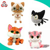 Animated toys plush Japanese stuffed cat plush toy,monster cat plush toy
