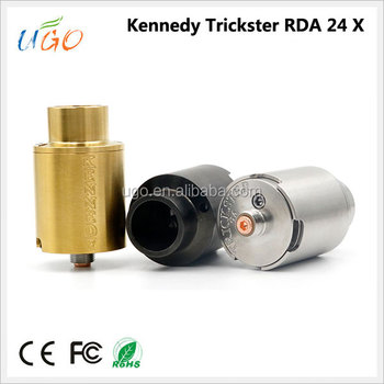 Rebuildable Drippping Atomizers Kennedy Trickster 25 Rda Vape Goon ...