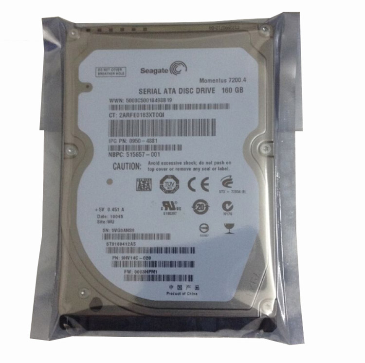 "2.5 ""Computer Portatile HDD 160 gb Notebook Internet Hard Drive"