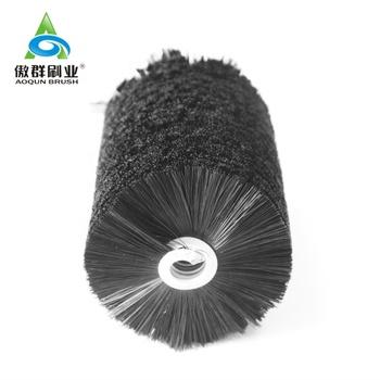 Spiral Round Brush Cylinder Sweeping Brushes Industrial Brush Rollers