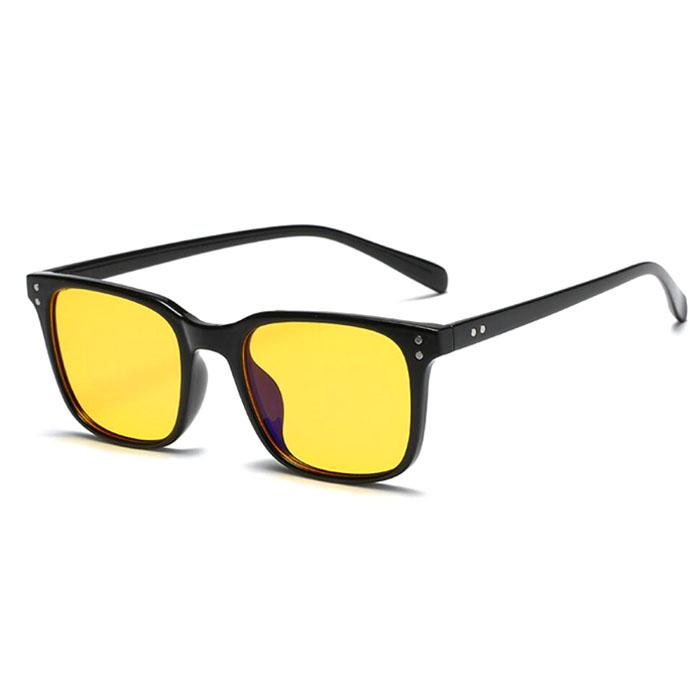 있음 TR90 uv400 옐로우 안티 블루 라이트 안경 게임 차단 안경