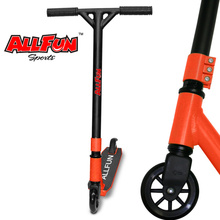 Allfun Stunt Freestyle Scooter Beginners Amateurs BMX Kids Adults Pro Stunt Scooter