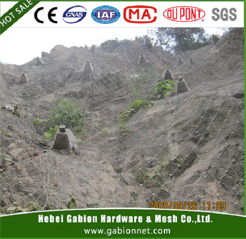 WICCO System /slope protection wire mesh/ rockfall protection netting